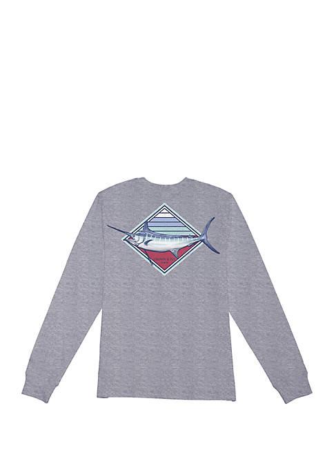 Boys 4-7 Marlin Long Sleeve Tee