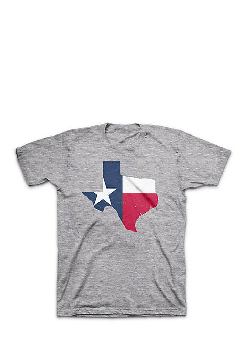 Crown & Ivy™ TX Flag Screenprint Tee Boys