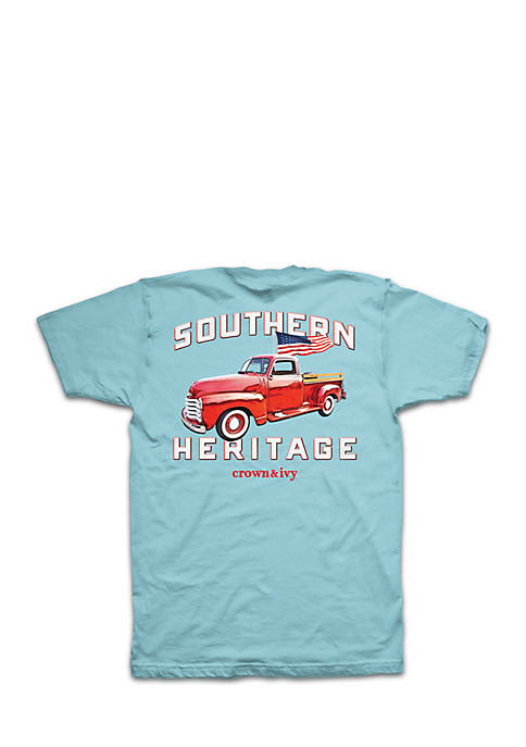 Crown & Ivy™ Boys 8-20 Southern Heritage Pickup