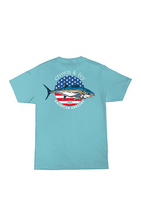 Boys 8-20 American Anglers T Shirt