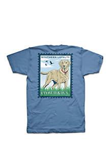 Crown & Ivy™ Boys 8-20 Tidal Postmark Short Sleeve Tee Shirt