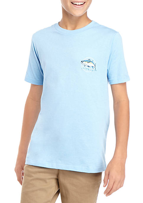 Crown & Ivy™ Boys 8-20 Setter Fish Wave