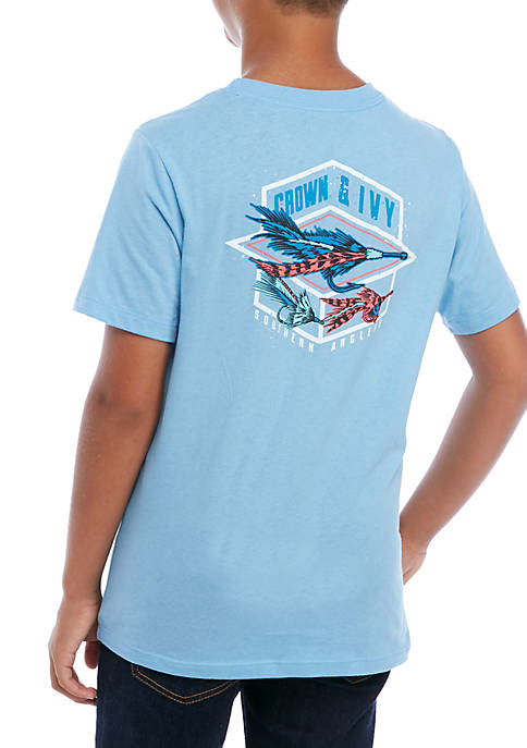 Crown & Ivy™ Boys 8-20 Soar Lure T-Shirt