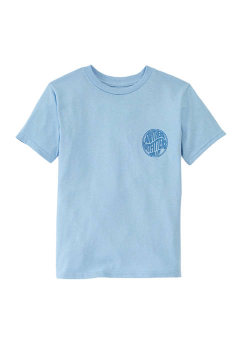Crown & Ivy™ Boys 4-7 Southfitters Graphic T-Shirt