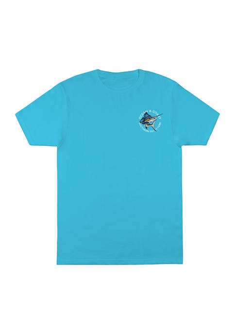 Ocean & Coast® Boys 8-20 Marlin Graphic T-Shirt