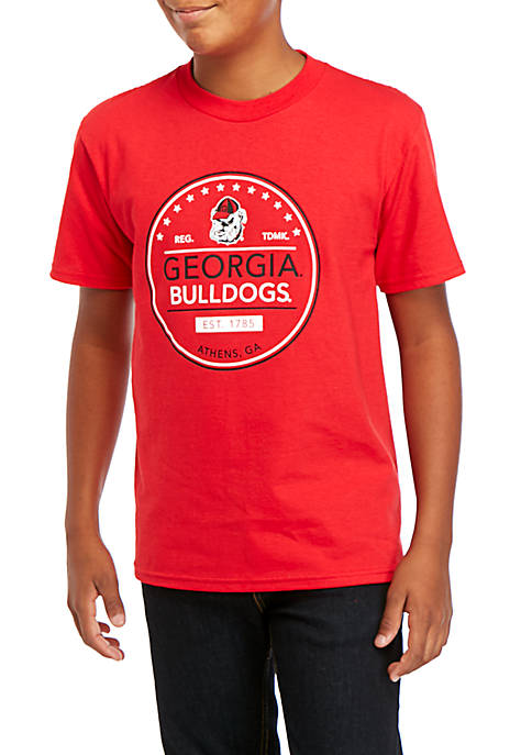 Champion® Boys 8-20 NCAA Georgia Bulldogs Jersey Short