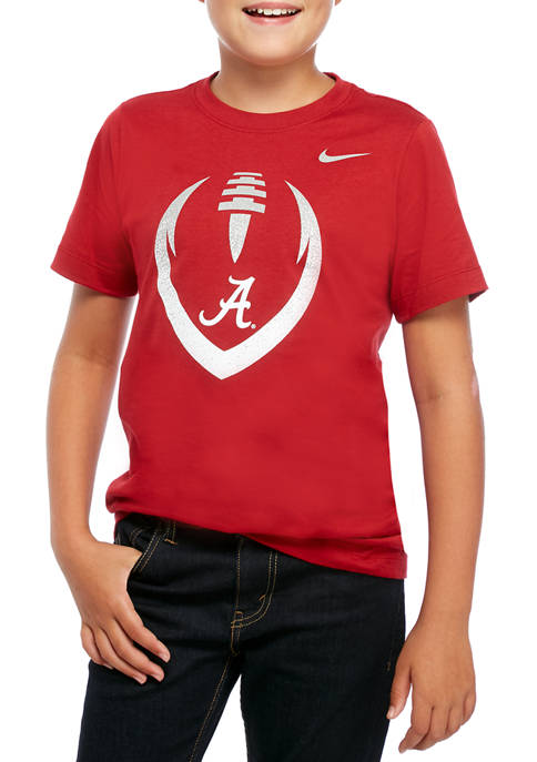Boys 8-20 NCAA Alabama Crimson Tide Short Sleeve