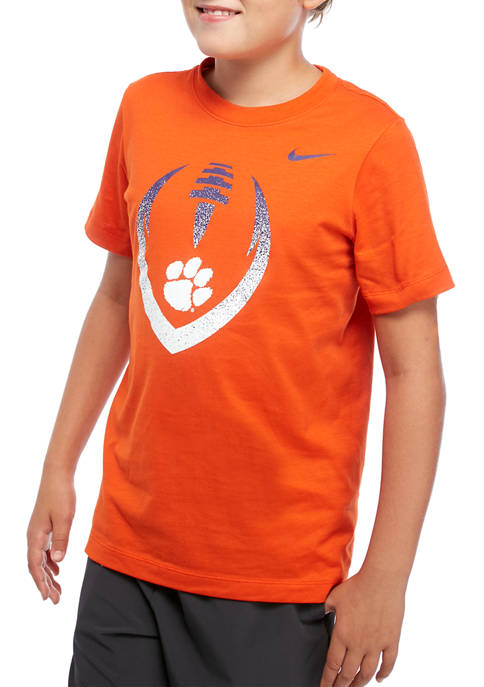 Boys 8-20 NCAA Clemson Tigers Short Sleeve Cotton