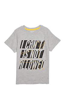 Boys 4-10 Short Sleeve Graphic Tee Shirt
