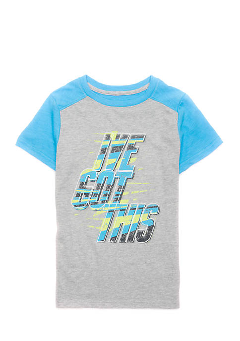 Lightning Bug Toddler Boys Short Sleeve Graphic Tee