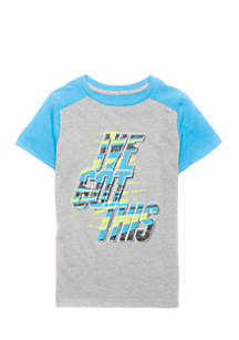 Toddler Boys Short Sleeve Graphic Tee