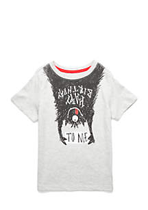 Toddler Boys Short Sleeve Graphic Bday Tee