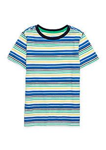 Boys 4-10 Short Sleeve Slub Tee
