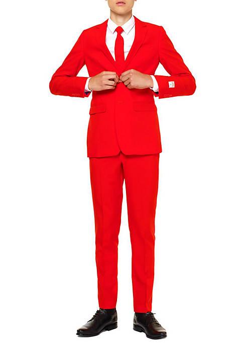 Boys 2-8 Red Devil Suit