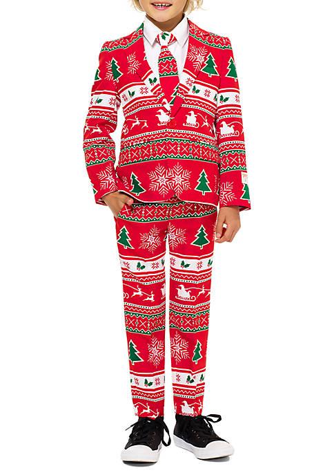 OppoSuits Boys 4-7 Winter Wonderland Suit
