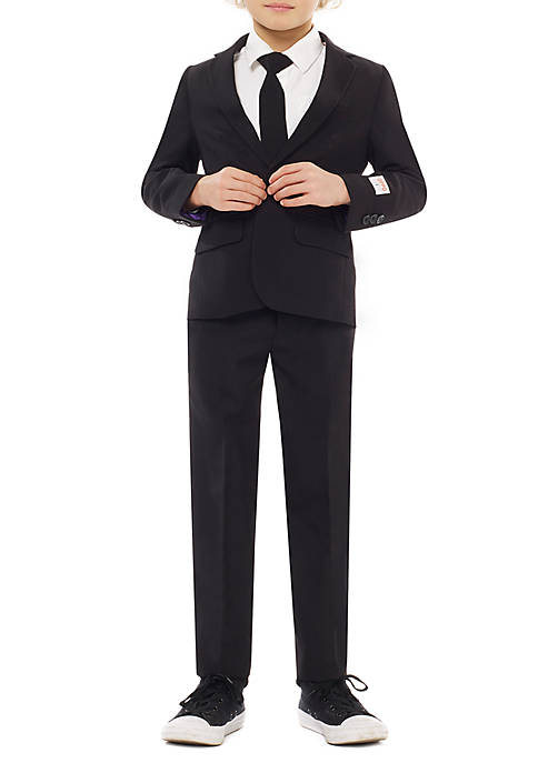 OppoSuits Boys 2-8 Black Knight Suit
