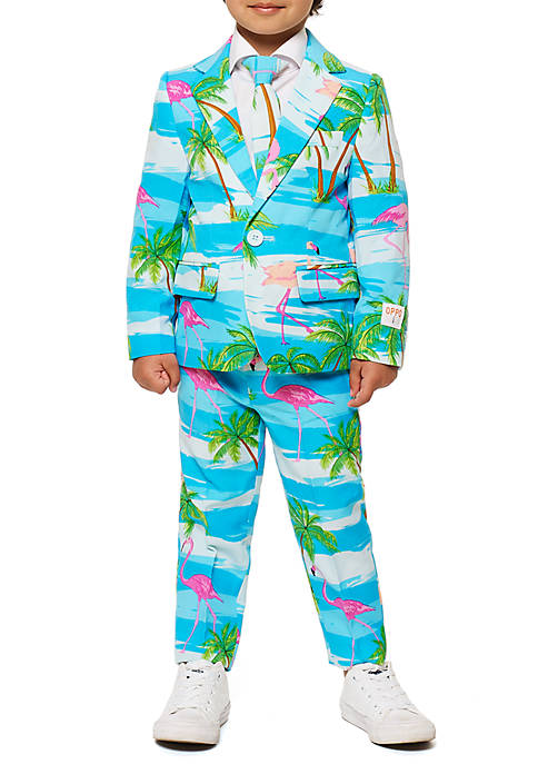 OppoSuits Boys 2-8 Flaminguy Suit