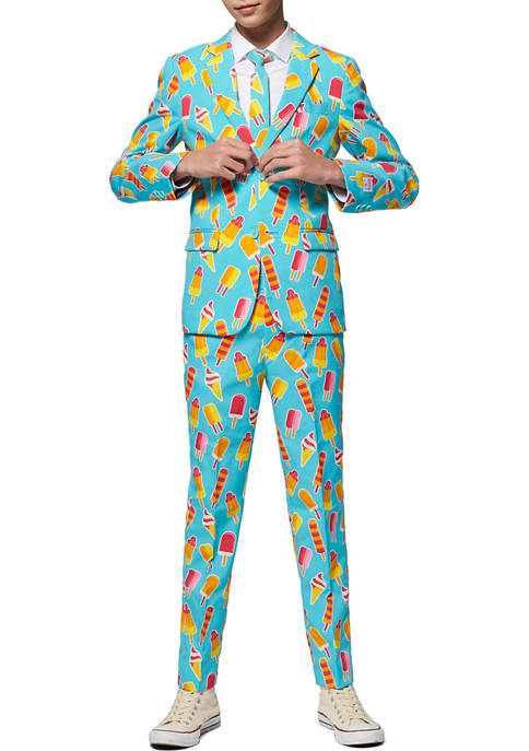 OppoSuits Boys 8-20 Cool Cones Ice Suit