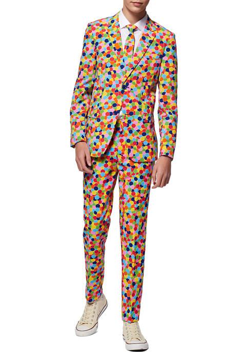 OppoSuits Boys 8-20 Confetteroni Confetti Party Suit