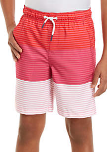 Crown & Ivy™ Boys 8-20 Swim Shorts
