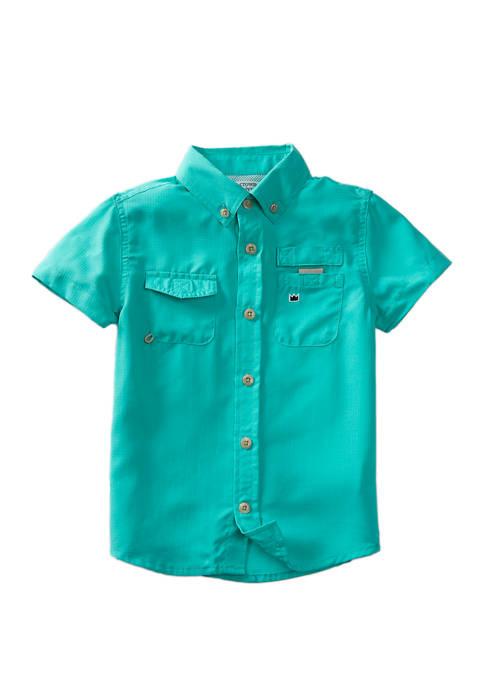 Crown & Ivy™ Boys 4-8 Short Sleeve Fishing