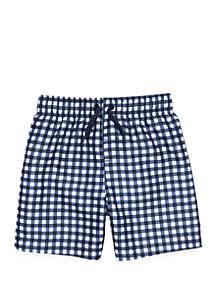 Crown & Ivy™ Boys 4-7 Swim Trunks