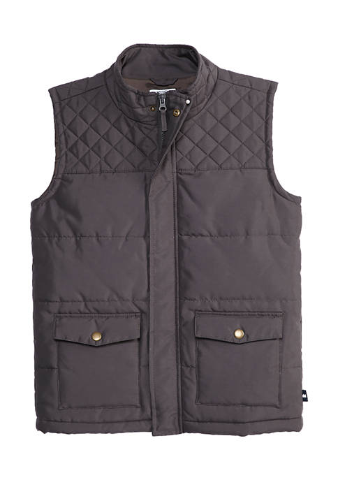Crown & Ivy™ Boys 8-20 Quilted Vest with