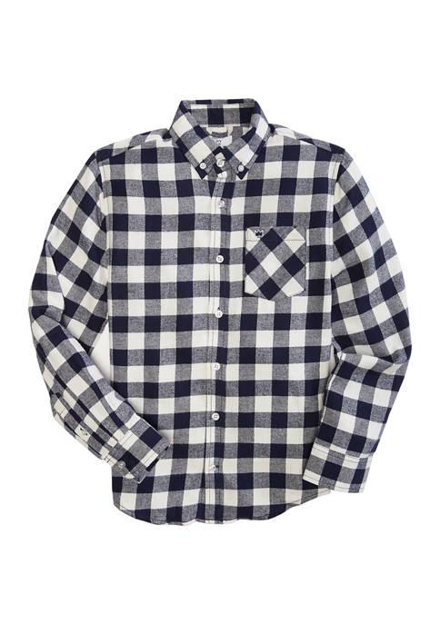 Crown & Ivy™ Boys 8-20 Long Sleeve Flannel