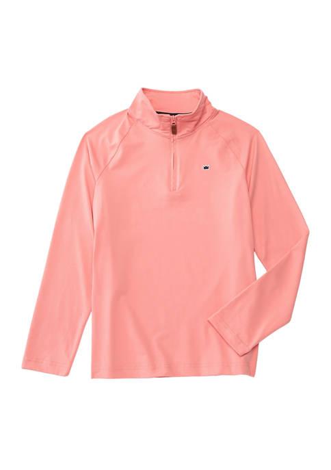 Boys 8-20 Long Sleeve 1/4 Zip Pullover