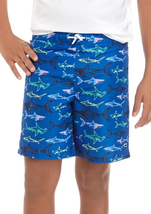 Crown & Ivy™ Boys 8-20 Swim Trunks