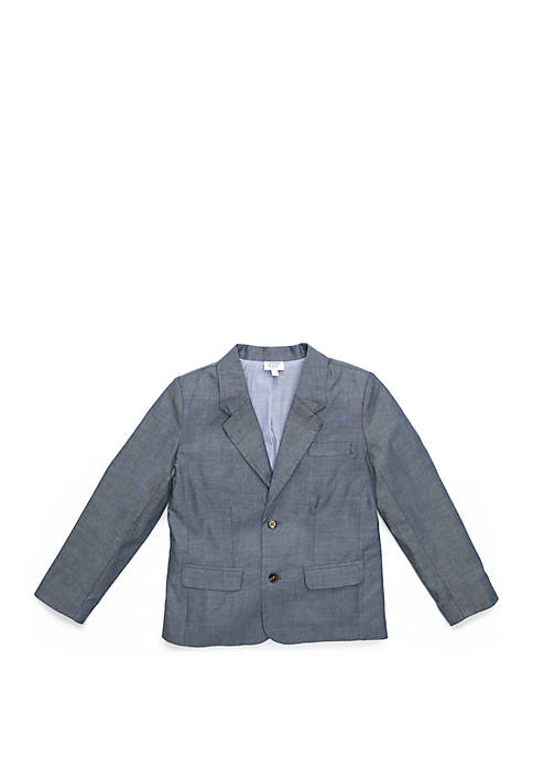 Crown & Ivy™ Boys 4-8 Chambray Blazer