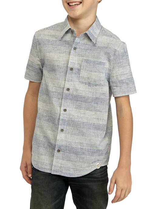 TRUE CRAFT Boys 8-20 Short Sleeve One Pocket