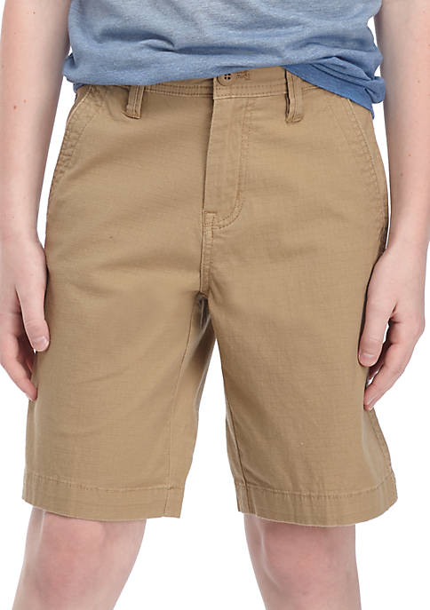 Ocean & Coast® Flat Front Ripstop Stretch Shorts