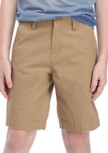 Ocean & Coast® Flat Front Ripstop Stretch Shorts Boys 8-20
