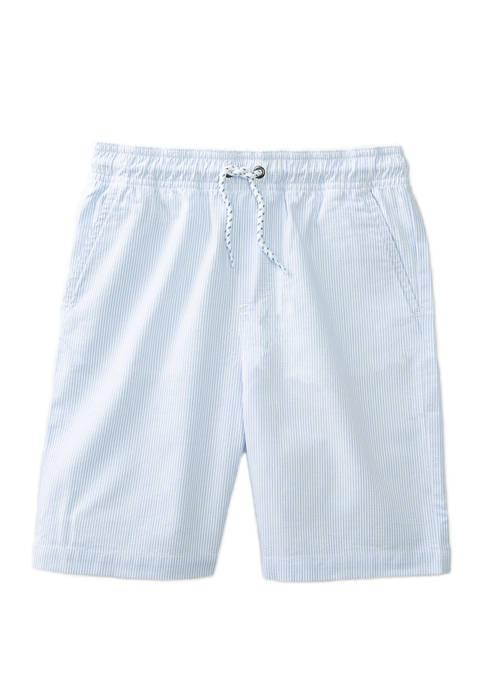 Boys 4-7 Stripe Deck Shorts