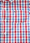 Boys 4-7 Short Sleeve Woven Shirt