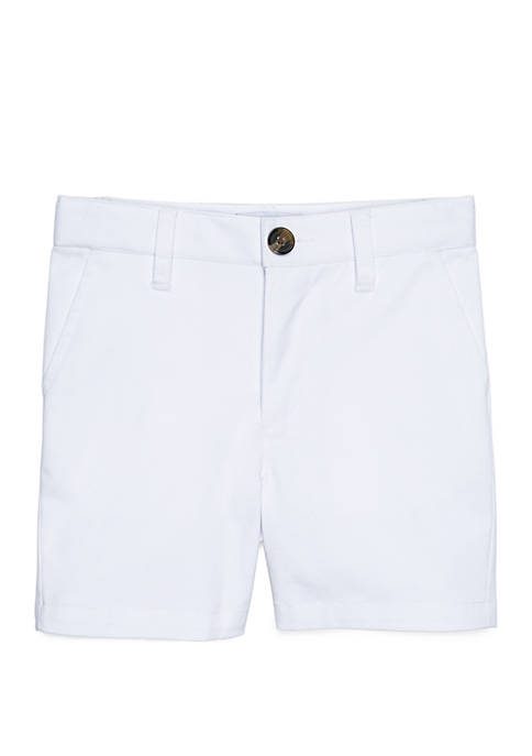 Crown & Ivy™ Boys 4-8 Flat Front Shorts