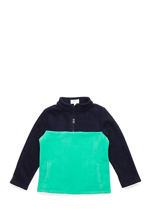 Crown & Ivy™ Boys 4-8 1/4 Zip Color