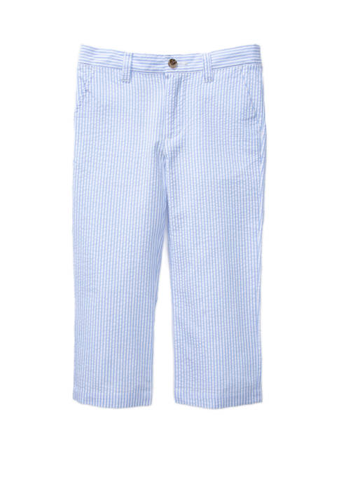 Crown & Ivy™ Boys 4-7 Seersucker Pants