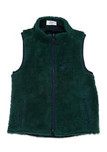 Boys 4-7 Sherpa Vest