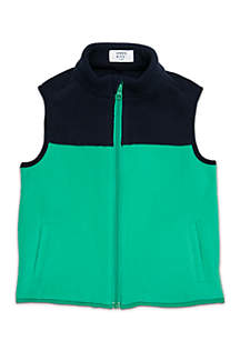 Crown & Ivy™ Boys 4-8 Yoke Vest