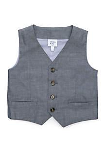 Crown & Ivy™ Boys 4-8 Chambray Vest