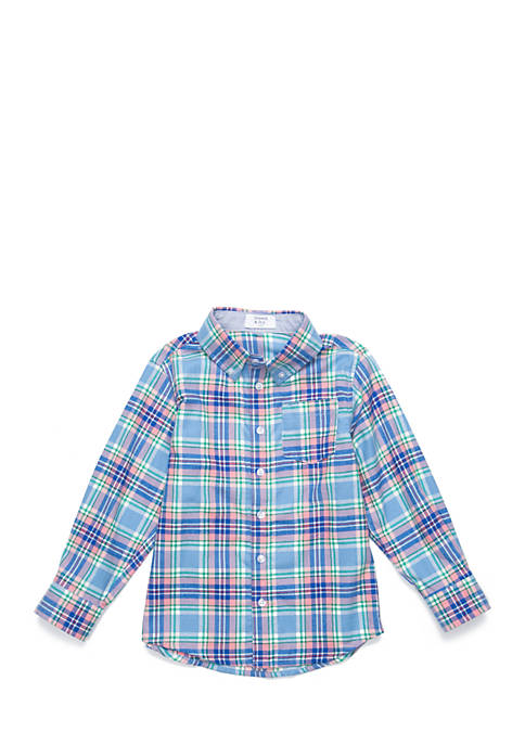 Crown & Ivy™ Boys 4-8 Long Sleeve Woven