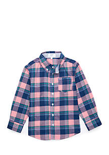 Boys 4-8 Long Sleeve Woven Shirt