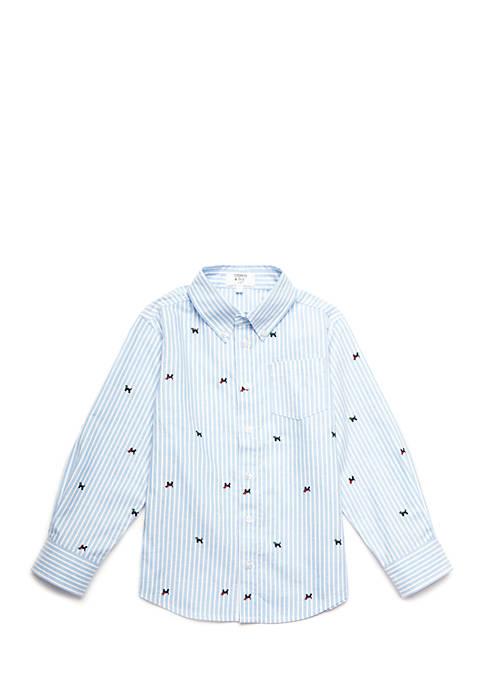 Boys 4-8 Long Sleeve Woven Shirt