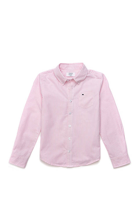 Crown & Ivy™ Boys 4-7 Long Sleeve Oxford