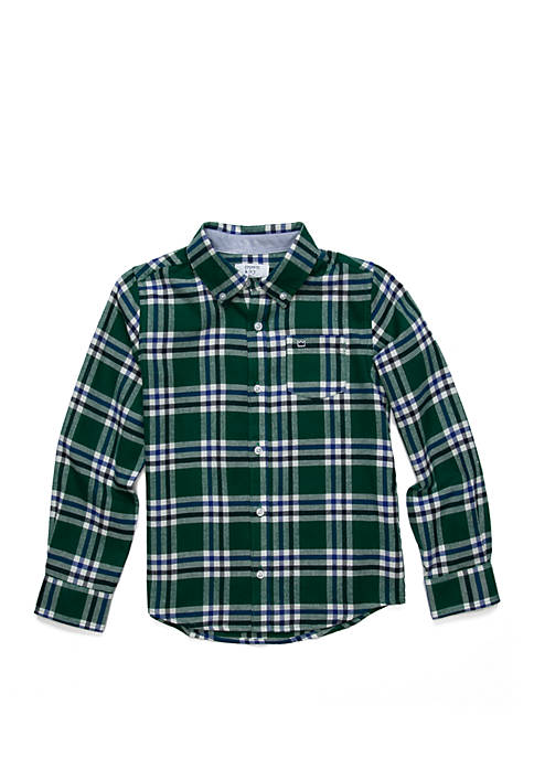 Crown & Ivy™ Boys 4-7 Long Sleeve Flannel
