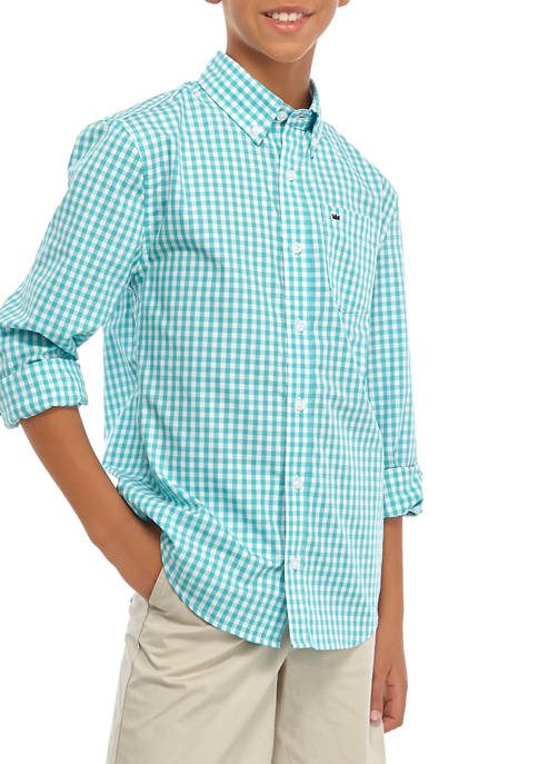 Crown & Ivy™ Boys 8-20 Woven Shirt