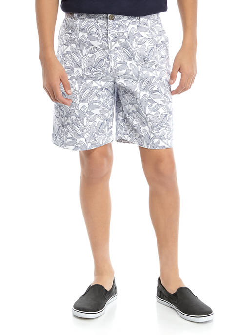 Crown & Ivy™ Boys 8-20 Family Shorts