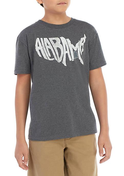 TRUE CRAFT Boys 8-20 Alabama T Shirt